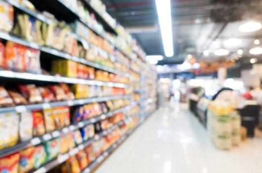 élelmiszer műanyag csomagolás szupermarket