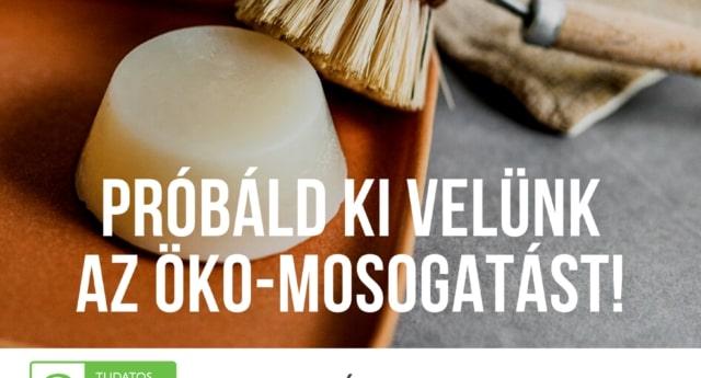öko-mosogatás kihívás műnayagmentes július