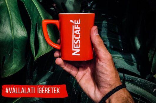 nescafé fenntartható kávé kakaó
