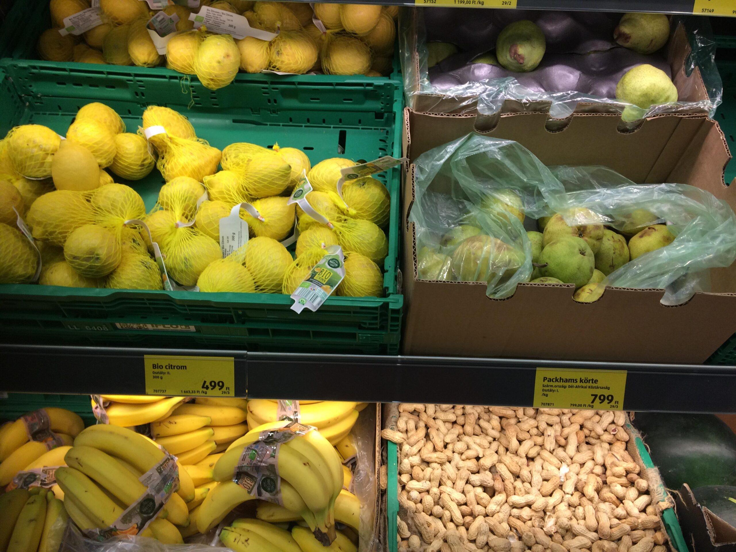 új jelölés zöldség gyümölcs