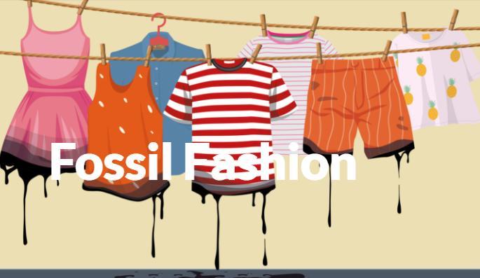 fossil fashion mikroműanyag szennyezés
