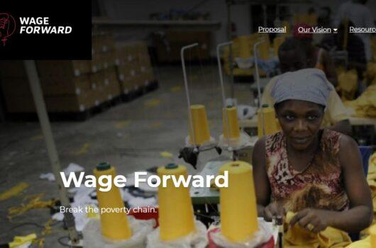 Wage Forward etikus divat tisztességes bér