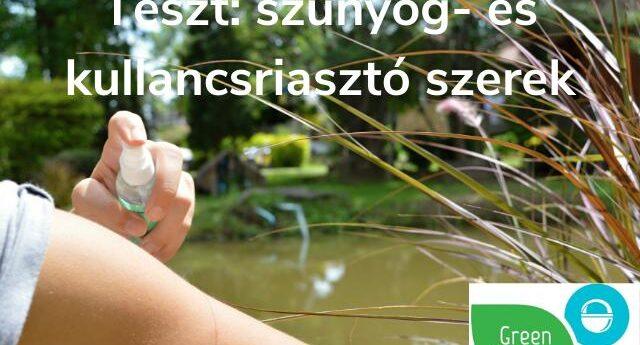 Teszt szúnyogriasztó kullancsriasztó szerek