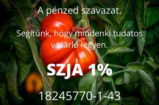 tudatos vásárlók egyesülete SZJA 1%