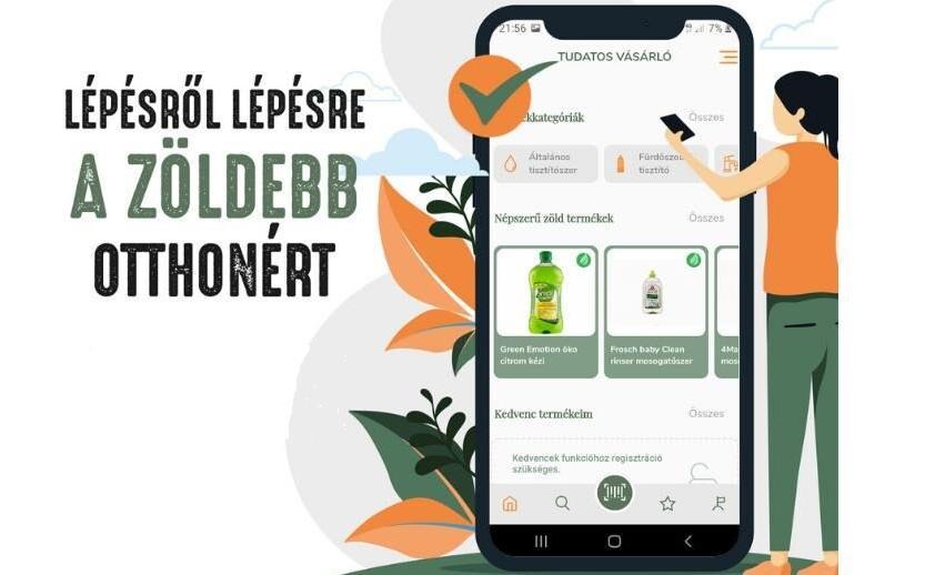 Tudatos Vásárló mobil applikáció