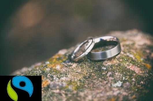 eljegyzési gyűrű fairtrade