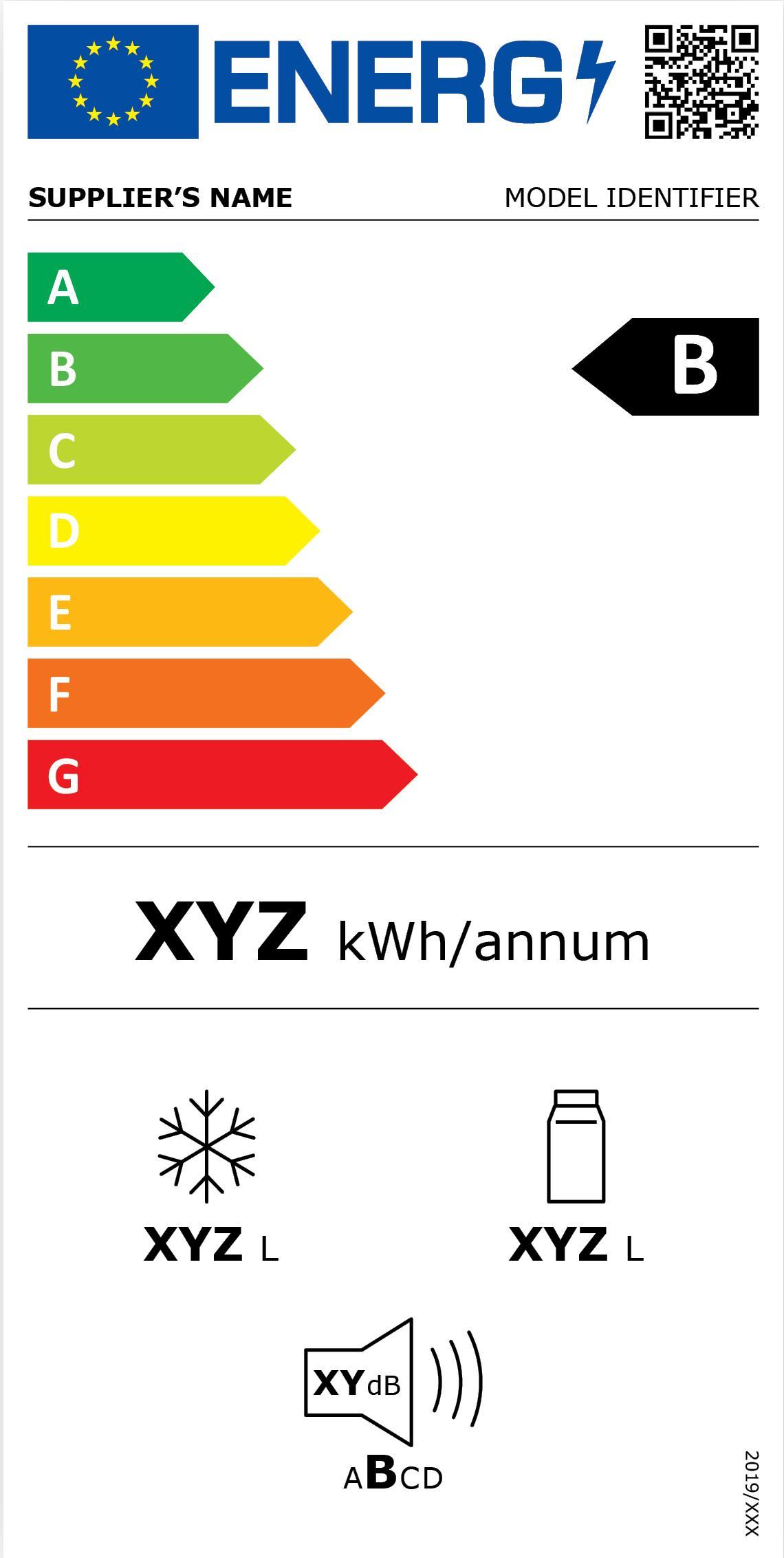 hűtők energiacímke 2021