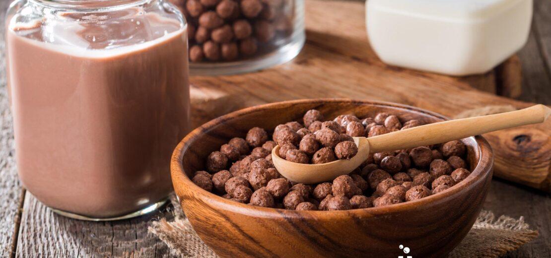 csokis gabonapehely teszt reggeli