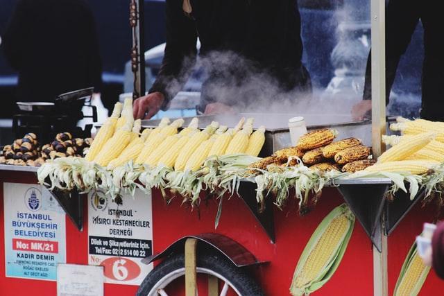 kukorica sült