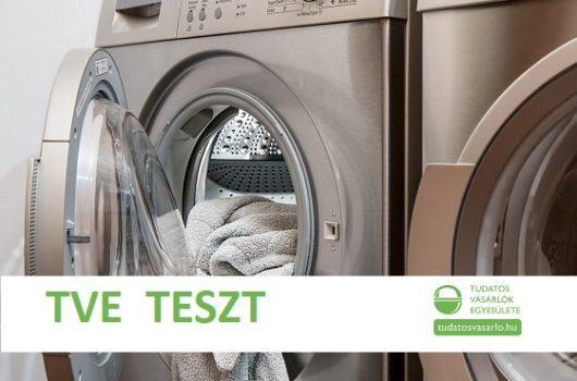 mosógép teszt