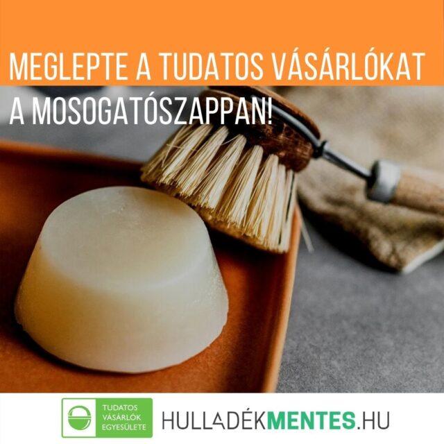 Nem csak a #szilárdsampon, a #mosogatószappan is nagyon kíváncsivá tette a Tudatos Vásárlók közösségét. Öko-mosogatás kihívásunkban Veletek együtt a mosogítószappanos mosogatást hasonlítottuk össze a hagyományos, ám hígított folyékony mosogatószeres, illetve a mosószódás mosogatás élményével.   Támogató tagjaink és szupertagjaink közül 20-an a Hulladékmentes.hu ajándék SensEco mosogatószappannal vághattak bele a kihívásba. A nyereményjáték 114 regisztrálója közül végül 41-en kezdték el a kihívást. 24-en maradtak velünk a végéig! Köszönjük!   Legújabb cikkünkben elmesélik, mennyire találták praktikusnak a nyári hétköznapokban ezeket az öko-mosogatási módokat!  Link a bioban! Aki lemaradt, bármikor elkezdheti! Ha elérjük a 100 kitöltőt, ígérjük, ismét beszámolunk róla, mennyire nagy #kihívás az #ökomosogatás! Fotó: hulladekmentes.hu  #tudatosvásárló #tudatosvasarlo #greenandsafe #LIFE #hulladékmentes #ökotakarítás #vegyszermentes #papírcsomagolásútermékek #ecofriendly #zerowaste #zerohero #zeroheroes #tisztaotthon #zöldotthon #ökoháztartás #tudatos #környezetbarátháztartás #takarítás #fenntartható közel #hulladékmentesháztartás #zöldjövő #zöldneklennijó #öko #közösség #környezettudatos #tisztítószer