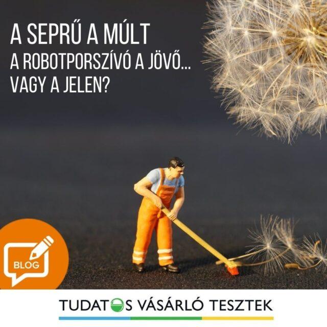 A seprű a múlt, a robotporszívó a jövő? Vagy egyenesen a jelen? ⏱️ Elképesztő, mi mindent tudnak már. Olvasd el cikkünket a Tesztek oldal blogján!   >>> A link már a bioban!  #tudatosvásárló #tudatosvasarlo #icrtteszt #teszt  #otthon #tisztaotthon #smartbuy #lakás #robotporszívó #okosotthon  #allergia #porszívó