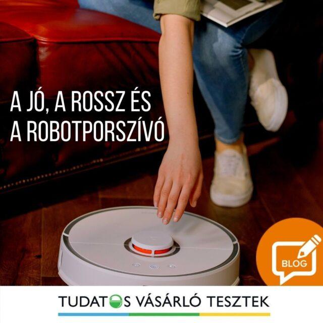 A robotporszívó sokak szemében elég futurista megoldásnak tűnik, holott már itt kopogtat a küszöbön - szó szerint! Olvasd el róla szóló cikkünket a Tesztek blogon és tudd meg mi különbözteti meg a jó és a rossz robotporszívót.   #robotporszívó #tudatosvásárló #tudatosvasarlo #icrtteszt #teszt #otthon #tisztaotthon #smartbuy #lakás
