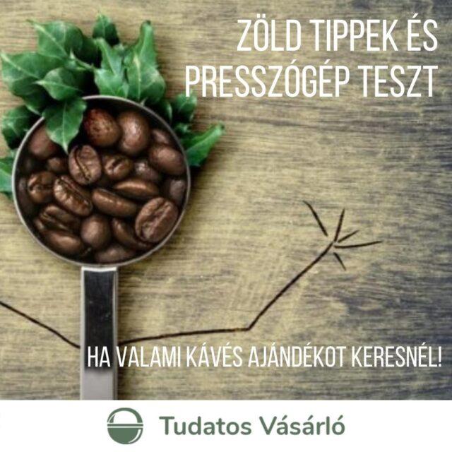 Van, akinek művészet, másnak létszükséglet, van, aki csak munkában iszik kávét, vagy csak a rokonoknak készíti. Így, vagy úgy, sokunk életének egyszerűen része a #kávézás, vagy a kávé készítés. S mivel legtöbbünk nem született #barista, az otthonokban is találunk valamilyen megoldást egy igazán jó kávé reményében!   #egyjóerősfeketét Presszógépek  Egy megbízhatóan jó, erős feketéhez a legegyszerűbb, ha a #presszógépek, vagy a jobb kotyogósok között keresgélsz! 148 kapszulás, automata és manuális eszpresszógépet teszteltünk.  tesztek.tudatosvasarlo.hu  Kávéfőzők   #belekotyogós Tejhabosító funkcióval! Ha a lehető legkényelmesebb megoldást keresed, hogy egy jó capucchinot ihass, vagy szeretsz kísérletezni a tej-tejhab-tejszín-kávé arányaival (netán sokféle módon szeretik a kávét a család tagjai), érdemes olyan készüléket választanod, amin kényelmesen #tisztítható #tejhabosító van. Tesztünkben vizsgáltuk az elkészített kávé hőmérsékletét, az eszpresszó minőségét, az elkészítési időt, a tejhabosítást, az energiafogyasztást és a tisztítást is.  #kísérletezőknek #kiegészítők #fenntarthatóajándék Szeretsz más kultúrák felé kalandozni a kávézáson keresztül? Vagy épp ilyen ajándékot keresel valakinek?  A Tudatos Vásárlón adunk 3+1 zöld tippet azoknak, akik valamilyen fenntartható kávés karácsonyi ajándékra vadásznak! 1⃣ újratölthető fém kávékapszula 2⃣ fém filteres porcelán kézi forrázó a #törökkávé a házi #chailatte, és a #teázás kedvelőinek. Filter nélkül használható, tökéletes #zerowaste ajándék 3⃣ #frenchpress  +1⃣ Ha kapszulás kávékülönlegességet keresel ajándékba, válassz a #fairtrade termékek közül! De a kávézást fűszerekkel is feldobhatjátok. Az illatos #kardamom például ajándéknak is kiváló.  A pénzed szavazat! Karácsonykor is!  A cikk a bioban vár!  #tudatosvásárló #konyha #klímabarátkonyha #fenntartható #hulladékmentes #fairtrade #GoEAThical #tesztek #icrt #otthon #kávéfőző #kávé