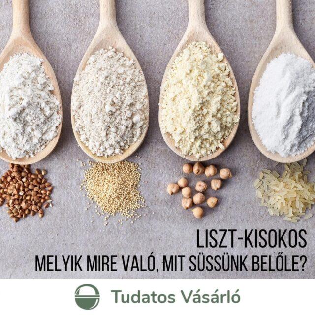 Ember legyen a talpán, aki a polcok előtt állva kiigazodik a számtalan lisztféle között. Mielőtt bevásároltok a hétvégi finomságokhoz, kukkantsatok bele cikkünkbe!   Összeszedtük, melyik lisztfajtát miért és mihez használd. >>> Link a bioban!  #tudatosvásárló #tudatosvasarlo #tudatos #liszt #lisztvízsó #kukoricaliszt #rizsliszt #rozsliszt #gluténmentes #klímabarátkonyha #klímabaráttányér #foodie #táplálkozás #tudatoséletmód  #egészség #egészségeséletmód #életmód #életmódváltás  #mutimiteszel #mik_gasztro_fitt #mutimiteszel_fitt #veggies #gasztro #zöldség #mutimiteszel_mentes #taplalkozasitanacsadas #hulladekmentes #környezetvédelem