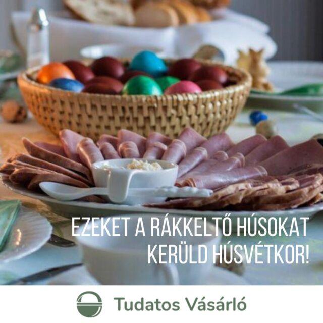 #TudatosHúsvét 🐰 Ha húsvét, akkor sonka, na de milyen?🥩 2015-ben a WHO összefüggést talált a feldolgozott húsfélék fogyasztása és a vastagbélrák kialakulása között. 😨 Épp ezért nem mindegy, milyen sonkát választasz az ünnepi asztalra ➡️ cikkünkben (link a bióban) ebben segítünk!  #sonka #húsvét #tudatosvásárló