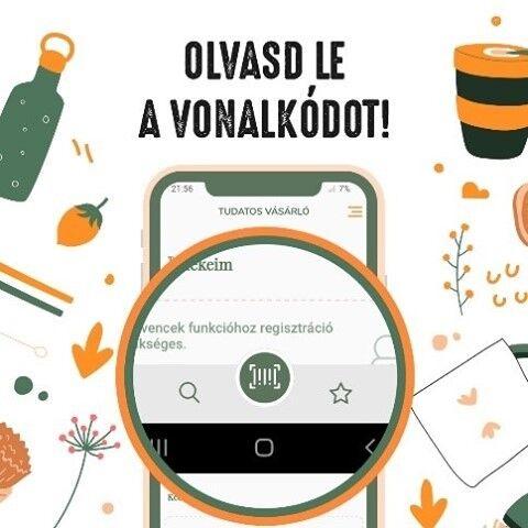 Tudtad, hogy a Tudatos Vásárló applikációban a termék vonalkódját beolvasva is tájékozódhatsz? Ha még nem tetted, töltsd le és próbáld ki!   Appunk termékadatbázisát folyamatosan bővítjük. Ha mégis olyan termékre bukkantál, ami nincs benne, fotózd be és küldd el nekünk az app@tve.hu e-mail címre!    #tudatosvásárló #tudatosvasarlo #greenandsafe #LIFE #zöldotthon #fenntarthatóotthon #vegyszermentes #vegyszermentesháztartás #hulladékmentes #zöldjövő #hulladékcsökkentés #tudatosság #tudatoséletmód #fenntarthatóság #környezetvédelem #hulladékmentesháztartás #ecofriendly #takarítás #zöldháztartás #zöldotthon #haztartas #gogreen #gogreenfortheplanet