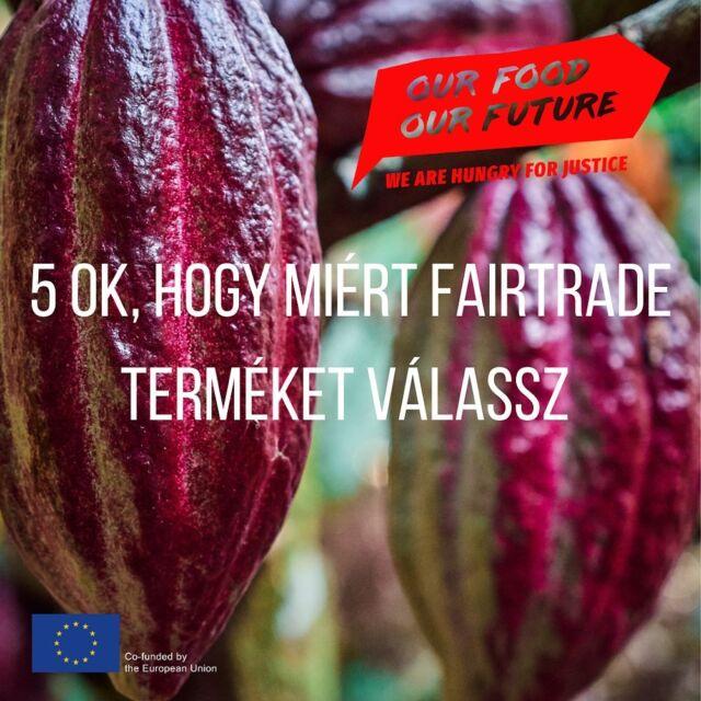 👩🌾👨🌾A #Fairtrade nem csak úri huncutság. Bár ezek a termékek drágábbak, mint hagyományos társaik, ez a gazdálkodási forma jelent fenntartható termelést mind #környezetvédelmi, mind #szociogazdasági szempontból 👉ha érdekel a téma, olvasd el cikkünket a bióban található linken.  ♻️A fairtrade termékek🍌🍍☕ biztonságos és egészségre nem ártalmas munkafeltételek mellett készülnek, ahol a dolgozók tisztességes árat kapnak az elkészített termékekért, és munkahelyük működésével kapcsolatban döntési jogosultsággal is rendelkeznek. A méltányos kereskedelem jó minőséget garantál, és a nagyrészt kézi munkával előállított termékek termelése kevésbé terheli a  környezetet.🌏🌿  #OurFoodOurFuture #GoEAThical #OFOF #DEARProgramme #méltányoskereskedelem #fairtrade #klímabarátkonyha #klímabaráttányér  #foodie #táplálkozás #tudatoséletmód #egészség  #egészségeséletmód #életmód #életmódváltás  #mutimiteszel #mik_gasztro_fitt #mutimiteszel_fitt #veggies #gasztro #zöldség #mutimiteszel_mentes  #meltanyoskereskedelem #hulladekmentes #fenntartható  #környezetvédelem #fenntarthatóság
