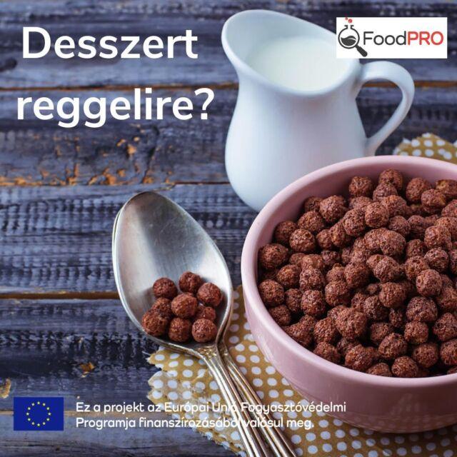 🍫Egy nemzetközi együttműködés keretében csokis gabonapelyheket teszteltünk, hogy kiderüljön, mi igaz a reklámok állításaiból, mennyire egészségesek ezek az élelmiszerek.  🔗Tesztünk eredménye a bióban érhető el!  🍫Az eredmény: ne tévesszenek meg senkit a hozzáadott vitaminok és ásványi anyagok, megmutatjuk, mennyi az értékes összetevők mellett a cukortartalom. Az is kiderült, van-e kettős minőség, van-e különbség az osztrák és a magyar Nesquik golyók között.  #FoodPRO #csoki #csokisgabonapehely #reggeli #édesség #táplálkozás #gabonapehely #testzt #tudatosvásárló #fogyasztóvédelem