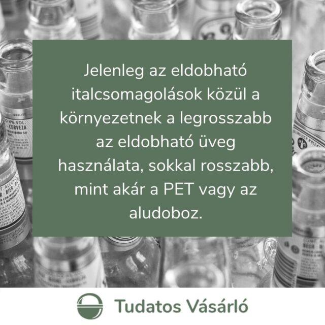 🍾Az egyszer használatos műanyagok ma már úgy tekintünk, mint ami örgödtől való, de ha tudományos szempontból megvizsgáljuk a kérdést, mennyivel környezetbarátabb italcsomagolás az üveg? Sajnos az a válasz, hogy semmivel, legalábbis nem a jelenlegi formájában. Ha az egyszere használatot vesszük figyelembe, bizony a PET palack használata a legkedvezőbb.  ♻️Ahogy más területeken, úgy itt is a lineáris szemléletmód helyett a cirkuláris lenne a jó, tehát ha az üvegeket vissza lehetne váltani és újratöltenék őket, ahelyett, hogy anyagukban hasznosítanák újra.   🔗Simon Gergely környezetkémikus elmerült az italcsomagolások rejtelmeibe, eredményeit pedig egy cikkben írta meg. Link a bióban!  📸Fotó: Mateo Abrahan/Unsplash  #fogyasztóvédelem #PET #üveg #környezetvédelem #italcsomagolás #tudatosvásárló #csomagolás #újrahasznosítás #újratöltés
