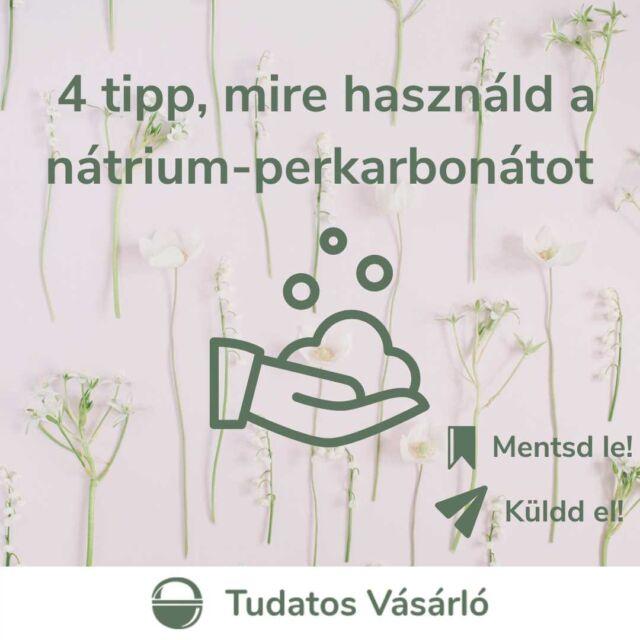 🧺Talán egy kevésbé ismert csodafegyver a természetes tisztítószerek között, pedig jó, ha van a háztartásban nátrium-perkarbonát. Fehérítő, folttisztító hatásának köszönhetően elsősorban mosáshoz érdemes használni, de emellett akár a fúgát is megtisztíthatod fele, sőt, a penésszel is felveheted a harcot!   🔗Ha kíváncsi vagy, mire használhatod még a nátrium-perkarbonátot a háztartásodban, akkor kattints a linkre a bióban, és olvas el cikkünket!  #greenandsafe #LIFE  #vegyszermentes #vegyszermentesháztartás #hulladékmentes #zöldjövő #hulladékcsökkentés #tudatosság #tudatoséletmód #fenntarthatóság #környezetvédelem #hulladékmentesháztartás #ecofriendly #takarítás #zöldháztartás #zöldotthon #haztartas #gogreen #fogyasztóvédelem #tudatosvásárló
