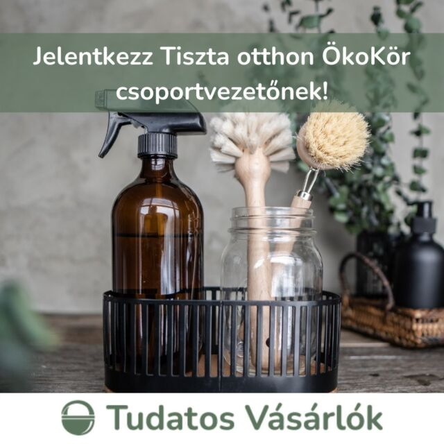 🌿 Szeretnéd tudni, hogyan zsírtalaníthatsz mosószódával? Kíváncsi vagy hogyan készíthetsz 'öblítőt' ecetből? A Tiszta otthon ÖkoKörök során megtanulhatod, hogy miként használj kevesebb káros vegyszert és termelj kevesebb hulladékot az otthonodban, miközben a higiéniáról és tisztaságról sem kell lemondanod. Az ÖkoKörök indításához és egyengetéséhez azonban csoportvezetőkre van szükségünk! Válj te is csoportvezetővé a képzésünk révén, és indíts saját ÖkoKört, hogy egy támogató kis közösségben együtt induljatok el vagy épp haladjatok tovább a háztartászöldítés izgalmas útján!  Mit kell tudni a képzésről? 📆Szeptember 20-26. között indul két csoport 💻A képzés online zajlik, a Zoom felületén 💰A jelentkezés az 5000 Ft-os adomány befizetésével válik véglegessé, amit csoportindítás esetén visszaigényelhetsz. 🔗További részletekért kattints a linkre a bióban! #greenandsafe #life #tudatosvásárló #tisztaotthon #ökokör