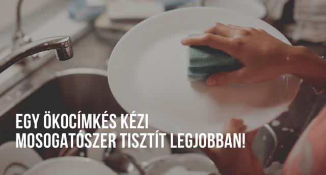 öko-címkés mosogatószerek